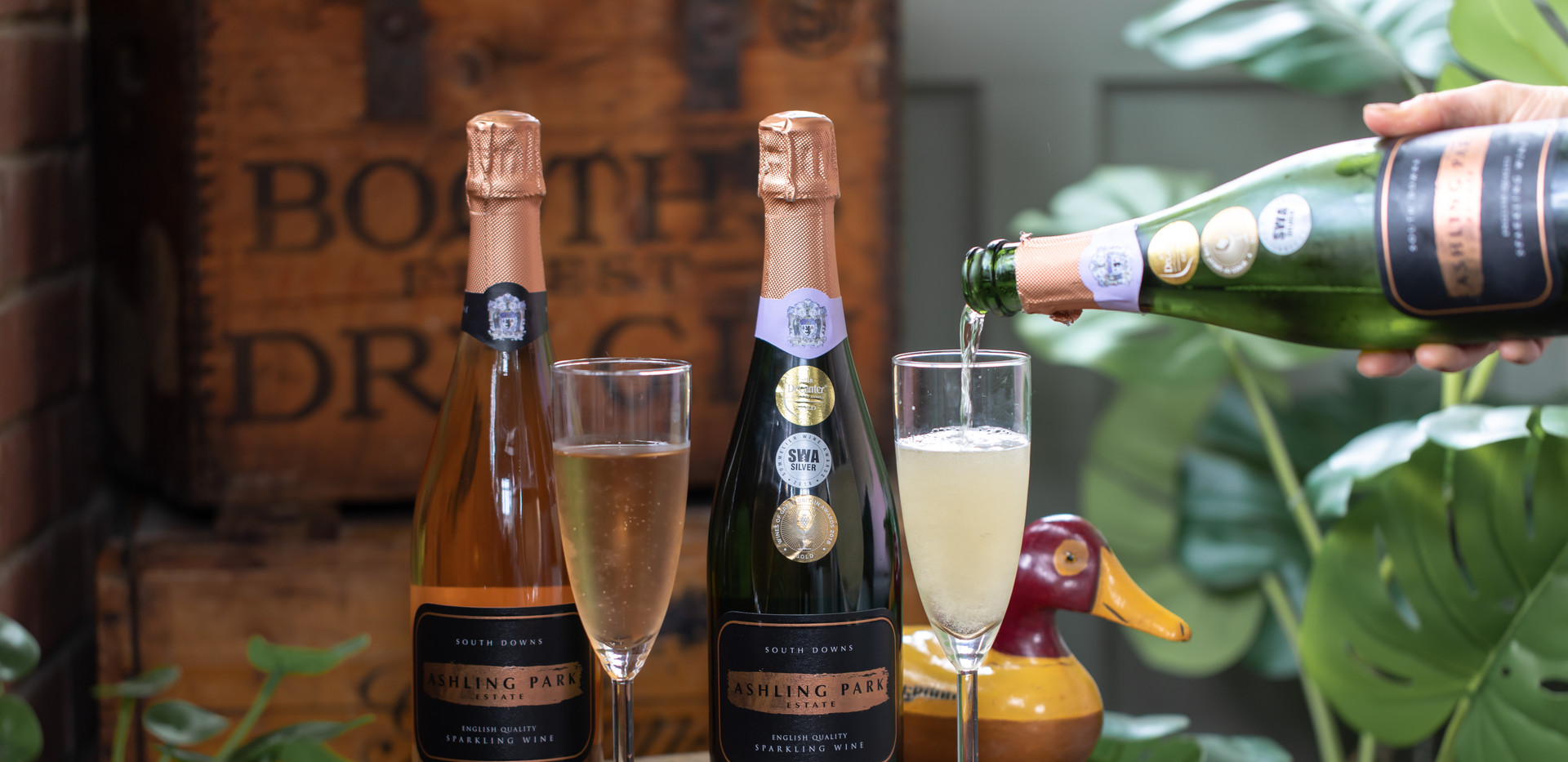 Ashling Park sparkling wine at The Richmond Arms in West Ashling