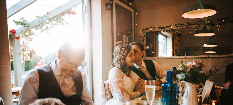 Wedding party at The Richmond Arms near Chichester