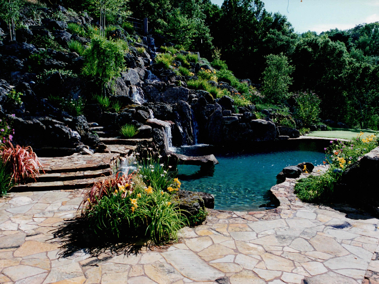 Pool & Waterfall