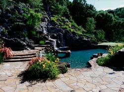 Pool & Waterfall