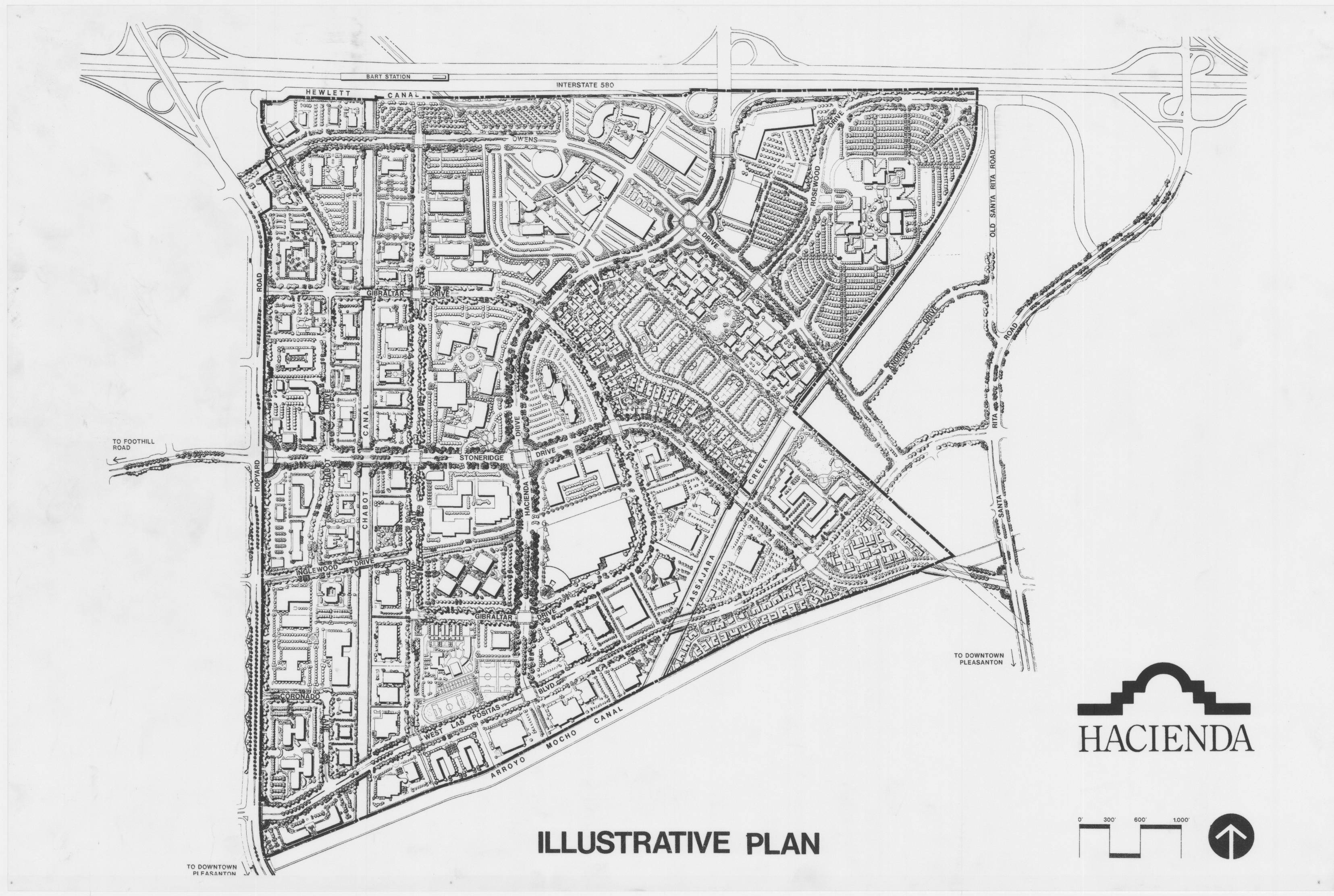 Illustrative Master Plan, 780 acres