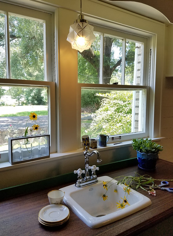 remodeled vintage kitchen