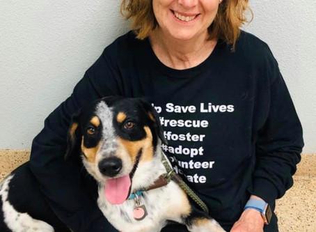 Animal lover becomes beloved volunteer