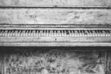 Antique Piano