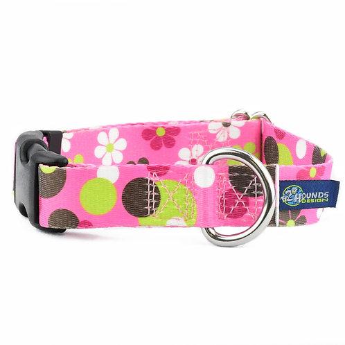 EarthStyle Daisy Dot Dog Collar