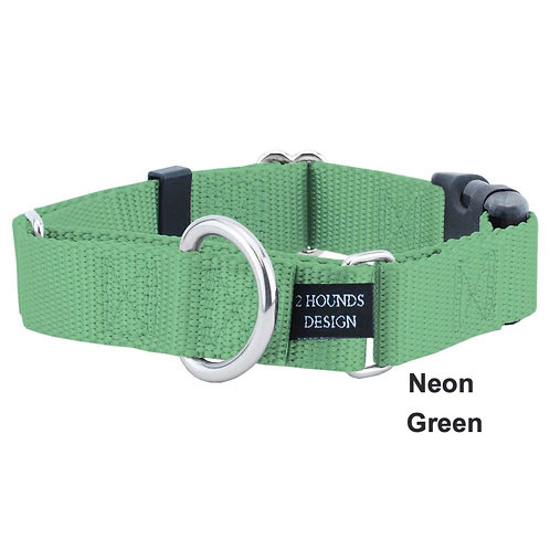 Martingale Nylon Dog Collar (Multiple Colors)