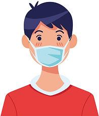 man-using-face-mask-character-vector-305
