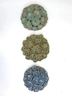 Lana Trzebinski - Ceramic Wall Pieces - Nairobi, Kenya