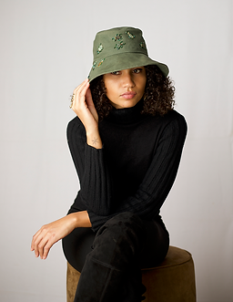 Green Hat with Beaded Dudus.png