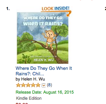 New Book Release: Where Do They Go When It Rains?