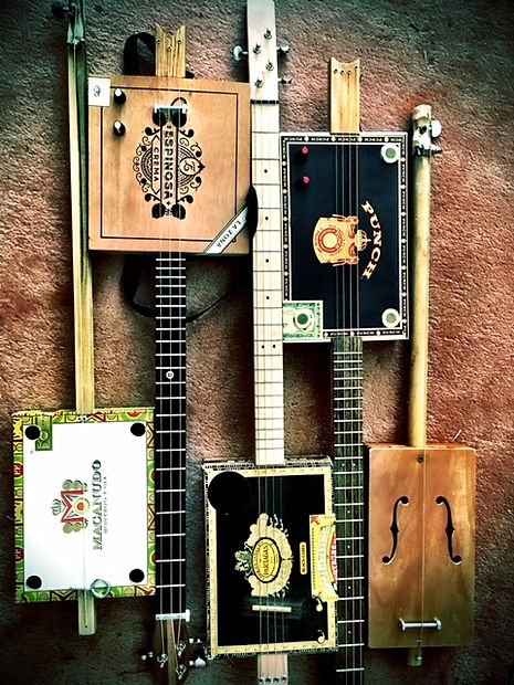 Cigar Box Guitars and Diddley Bows
