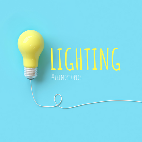 This week's #trendytopic! Lighting
