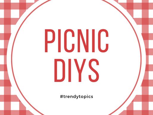 This week's #trendytopic! Picnic DIYs