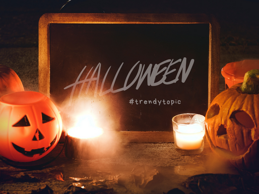 This week's #trendytopic! Halloween
