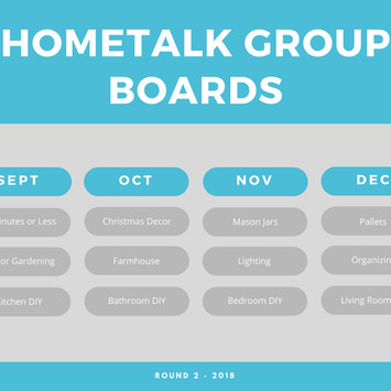 We are opening new group boards!