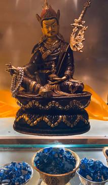 Guru Rinpoche Display in Rinpoche's Room