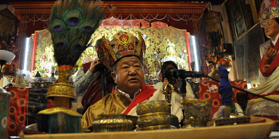 Mahaparinirvana Anniversary of Kyabje Shenphen Dawa Norbu Rinpoche