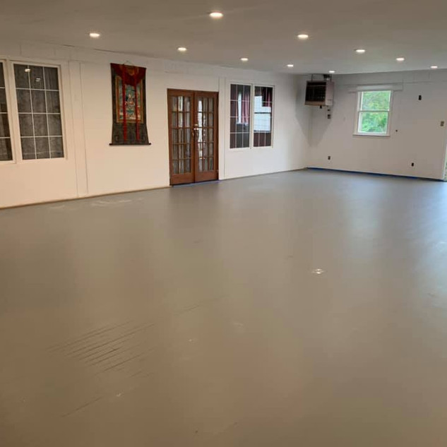 New Flooring for Dining Hall