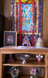 A small corner in Dharmapalas Room