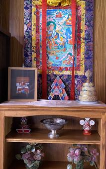 A small corner in Dharmapalas Room