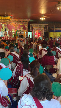 Troma Tshok with Dudjom Pema Shepa Rinpoche