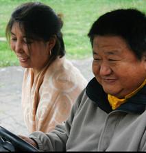 Shenpen Dawa Rinpoche and Sangyum Sonam Chokyi la