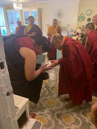 Namkhai Nyingpo Rinpoche and Namgyal Dawa Rinpoche