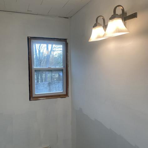 New Light for Kitchen's Bathroom