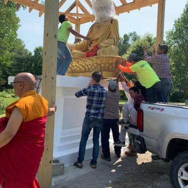 Guru Rinpoche Throne
