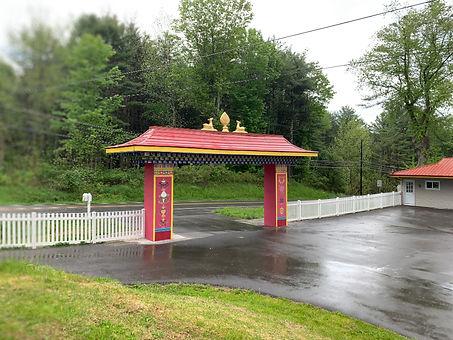 Orgyen Cho Dzong Retreat's Main Entrance