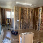 Walls fully removed from the kitchen