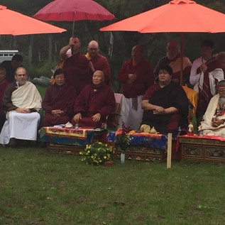 Consecration for Guru Rinpoche's Ku