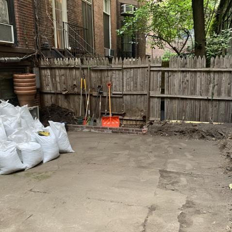 Garden After Cleanup