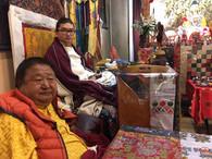 Dudjom Tenzin Yeshe Dorje Rinpoche and Shenpen Dawa Rinpoche