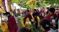 Shenpen Dawa Rinpoche cremation ceremony