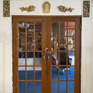 Entrance to Meditation Room