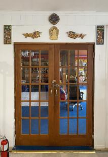 Entrance to Dharmapalas Room