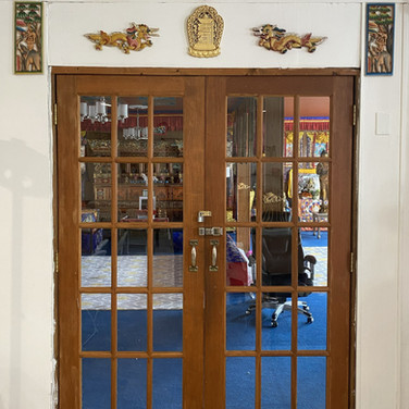 Entrance to Meditation Room