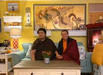 Namgyal Dawa Rinpoche and Tulku Orgyen Phuntsok Rinpoche