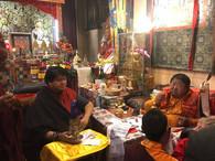 Shenpen Dawa Rinpoche and Namgyal Dawa Rinpoche