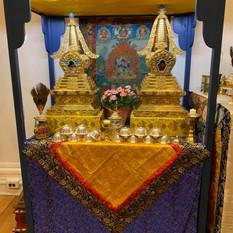 New Shrine for Stupa