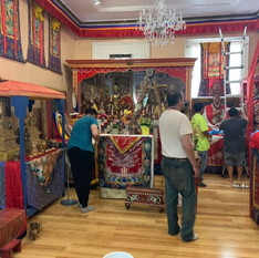 Sangha Rearranging the Temple