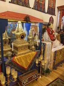 Temple's Stupas