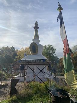 World Peace Stupa Orgyen Cho Dzong Retreat
