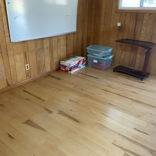 New Hard Wood Flooring for the Room