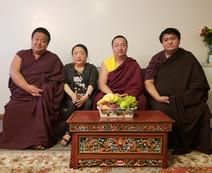 Dudjom Pema Shepa Rinpoche - Khandro Semo Lhanzey la - Kathok Situ Rinpoche - Namgyal Dawa Rinpoche