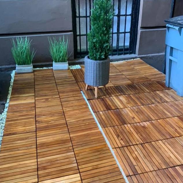 Garden Completed