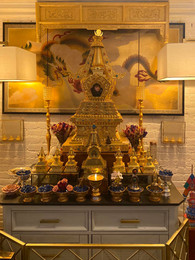 Khandro Semo Lhanzey la Stupa