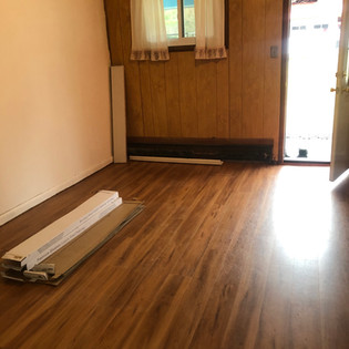 Floorings fully installed in Buddha House #4