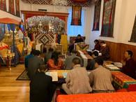 Bhutanese Ambassador visits Yeshe Nyingpo Temple